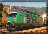 "Re 460 062 CFF ""Reka Rail"""